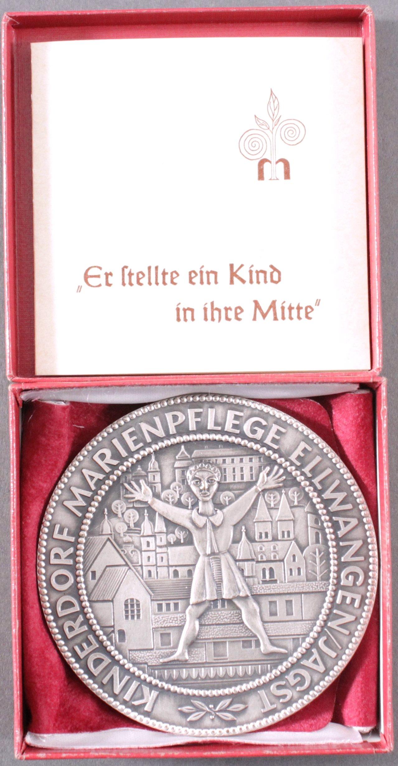 Medaille Entwurf Karl Heinz Knoedler
