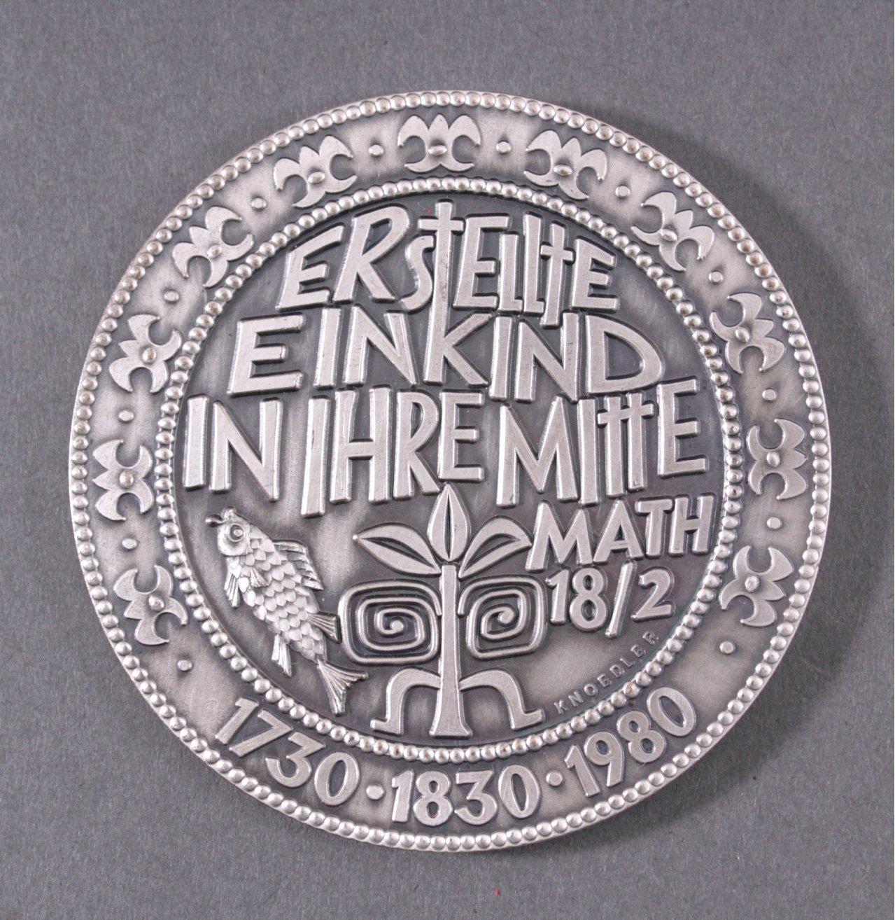 Medaille Entwurf Karl Heinz Knoedler-1