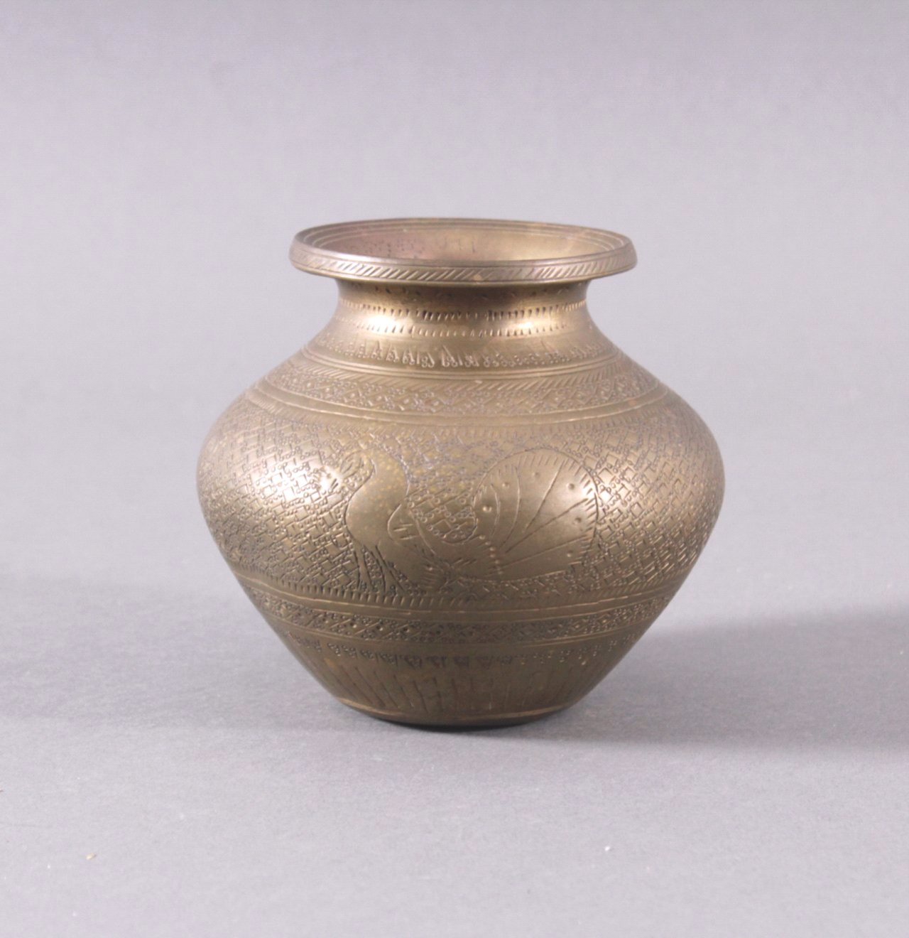 Antikes Bronzegefäß, wohl China