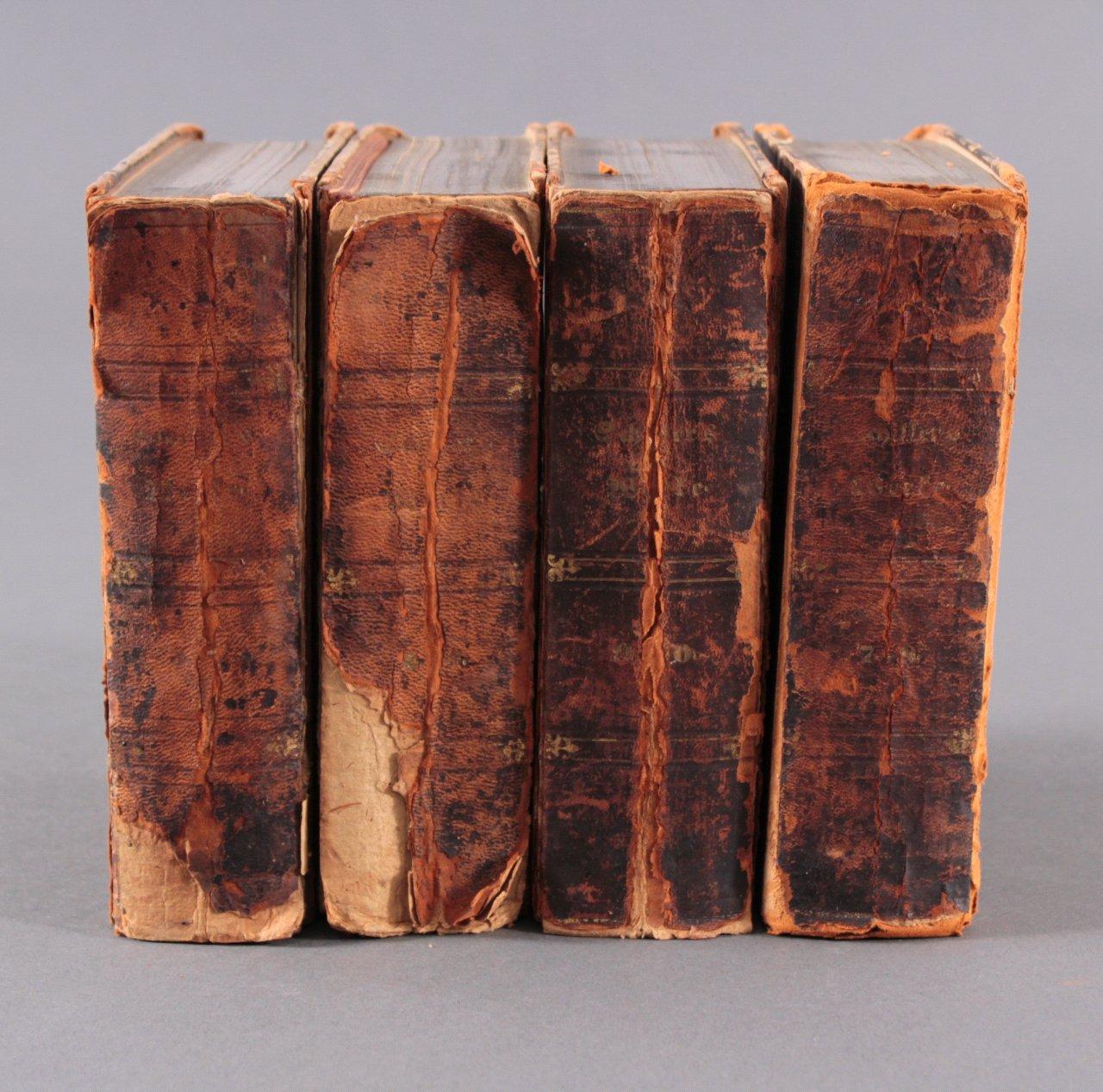 8 Bände aus Schillers sämmtliche Werke in zwölf Bänden, 1868