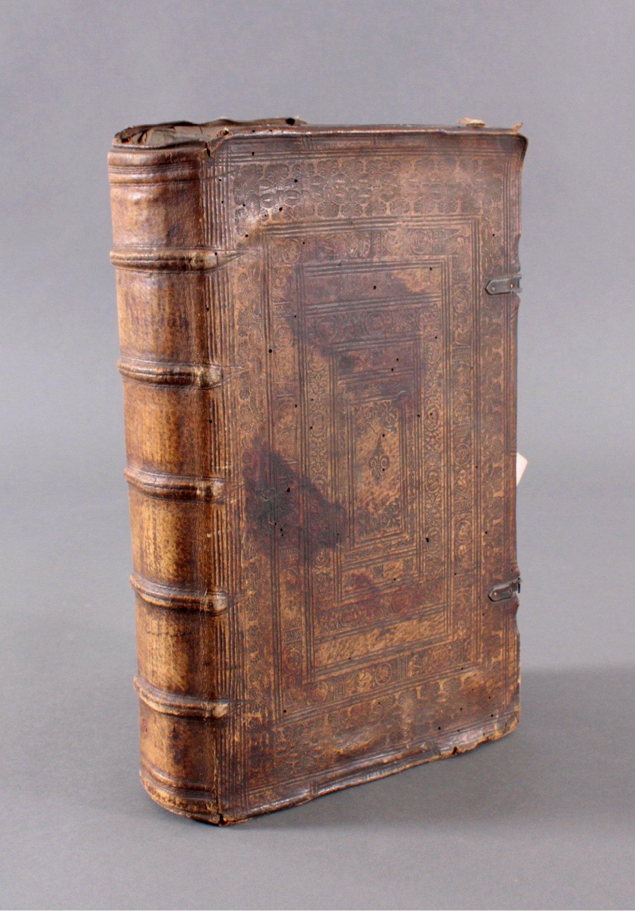 Antiquarisches Buch, Johannes Sleidanus 1608
