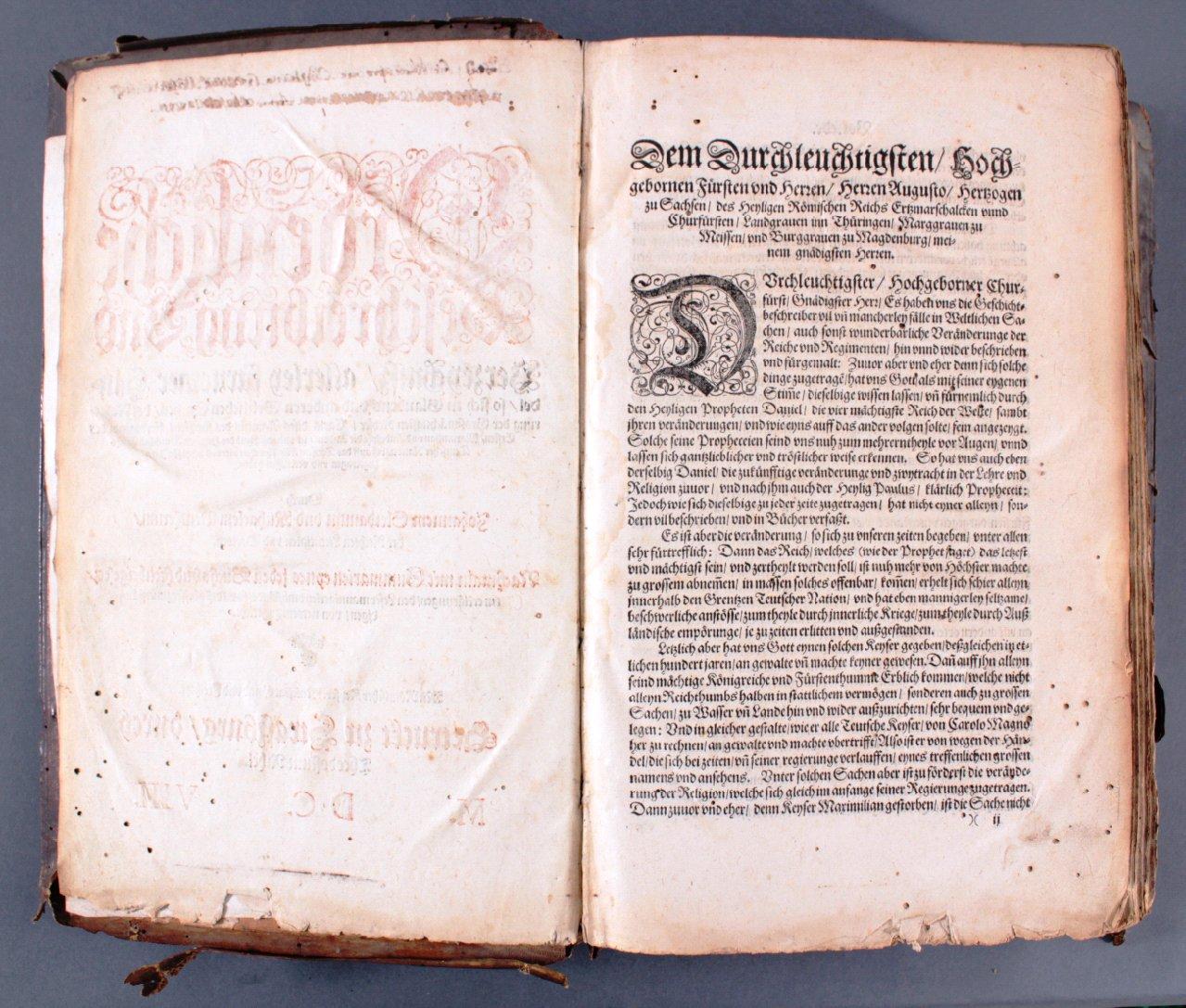 Antiquarisches Buch, Johannes Sleidanus 1608-2