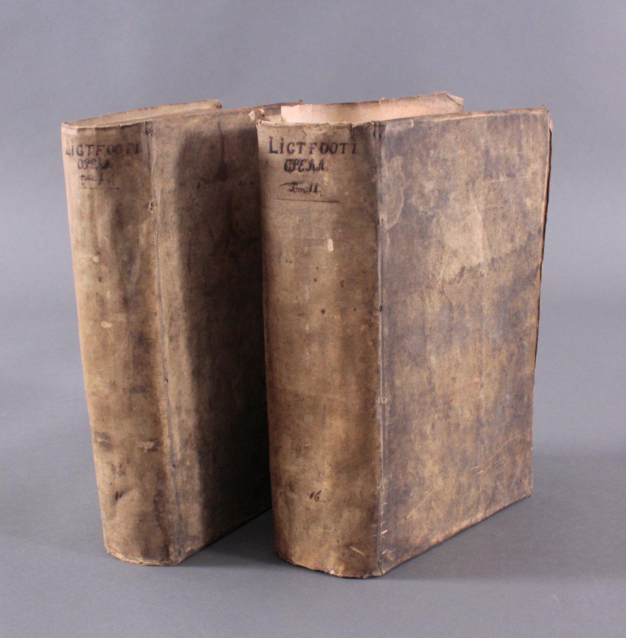 2 Ausgaben Joannis Lightfooti, 1618