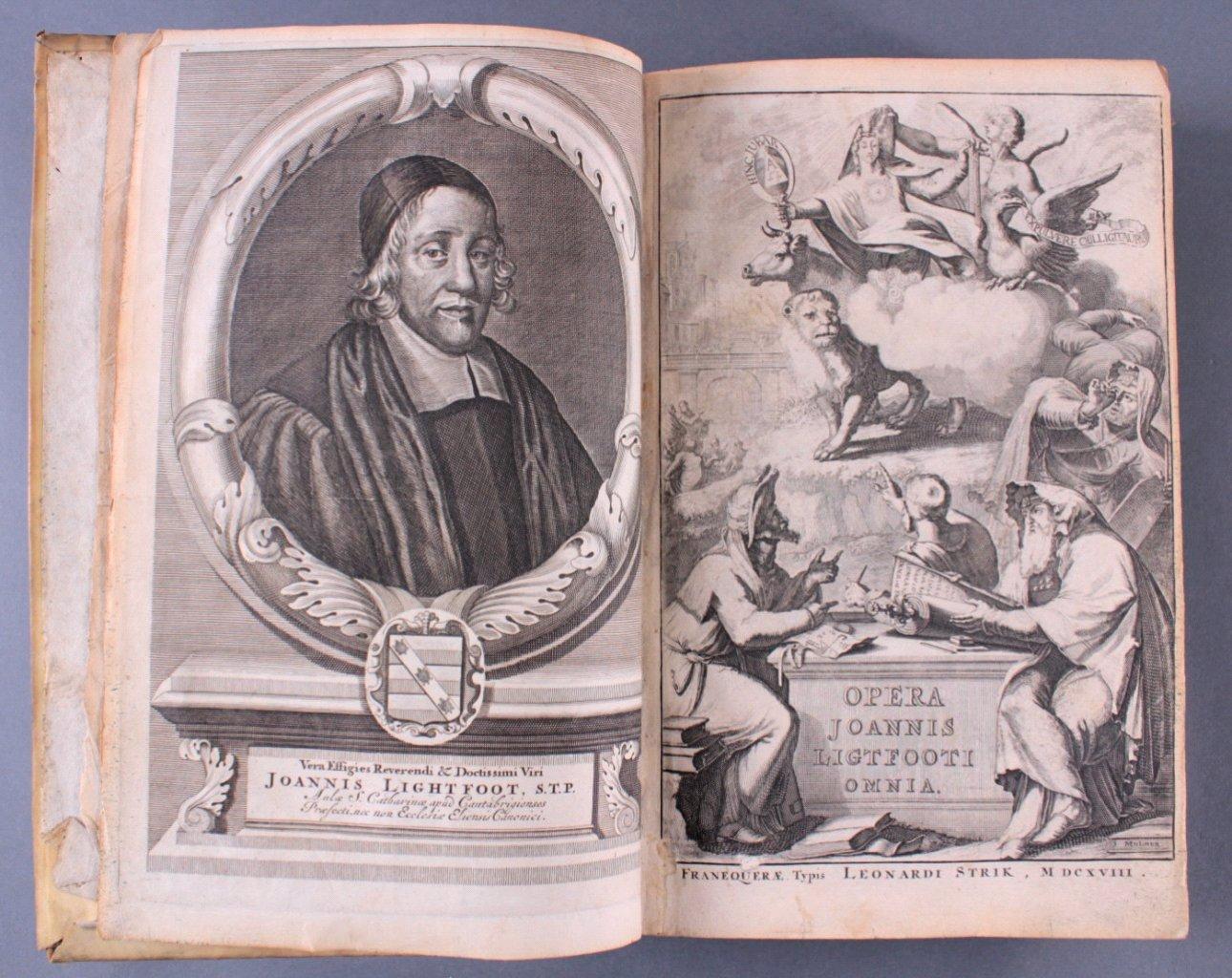 2 Ausgaben Joannis Lightfooti, 1618-4