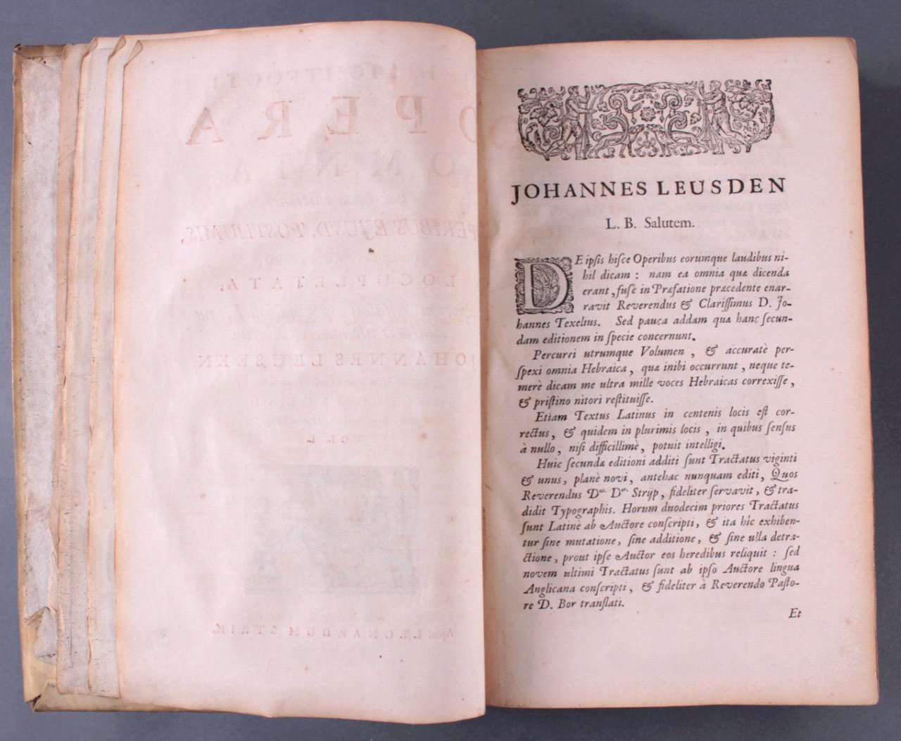 2 Ausgaben Joannis Lightfooti, 1618-5