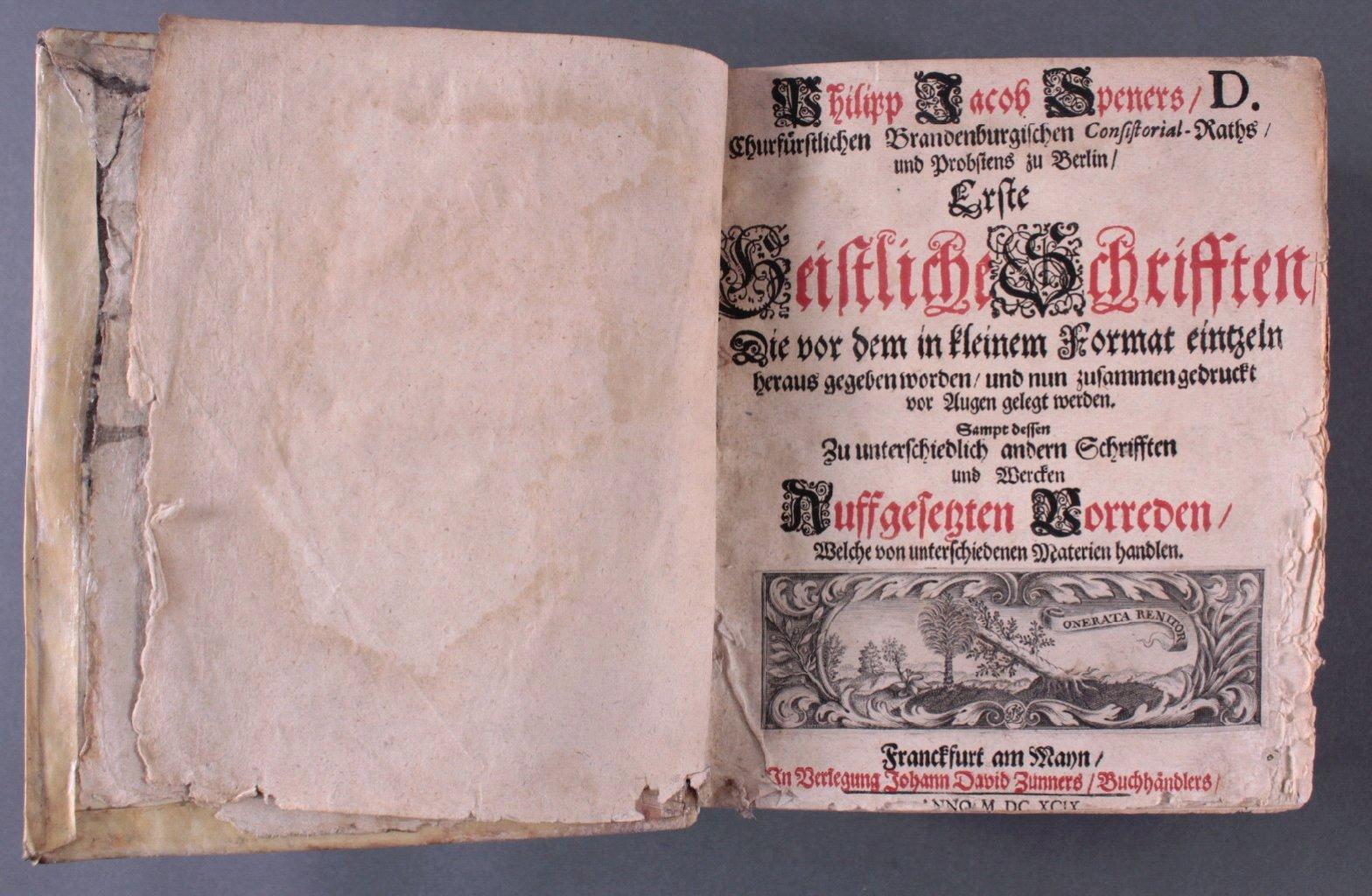2 Ausgaben Joannis Lightfooti, 1618-6