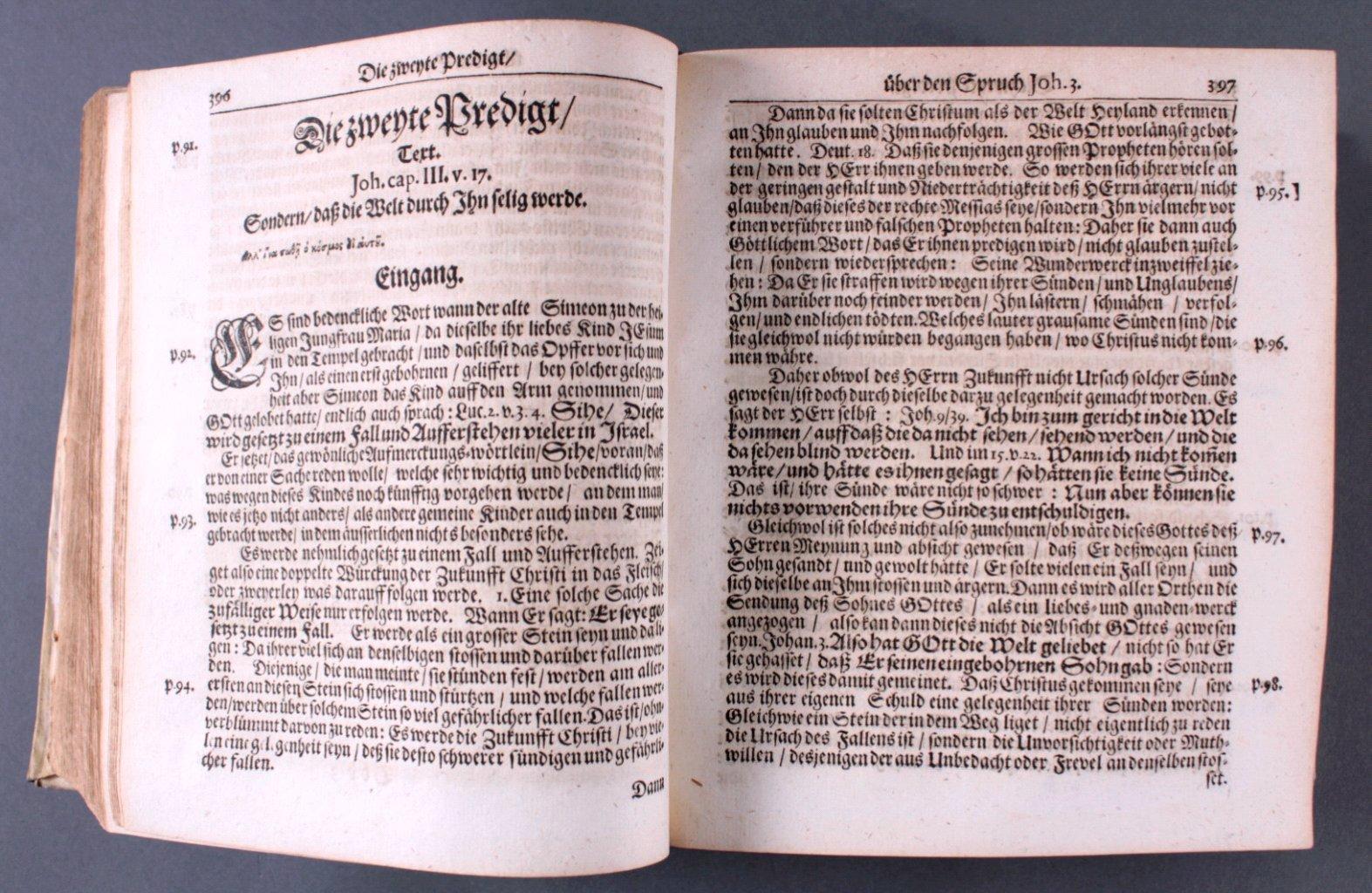2 Ausgaben Joannis Lightfooti, 1618-7