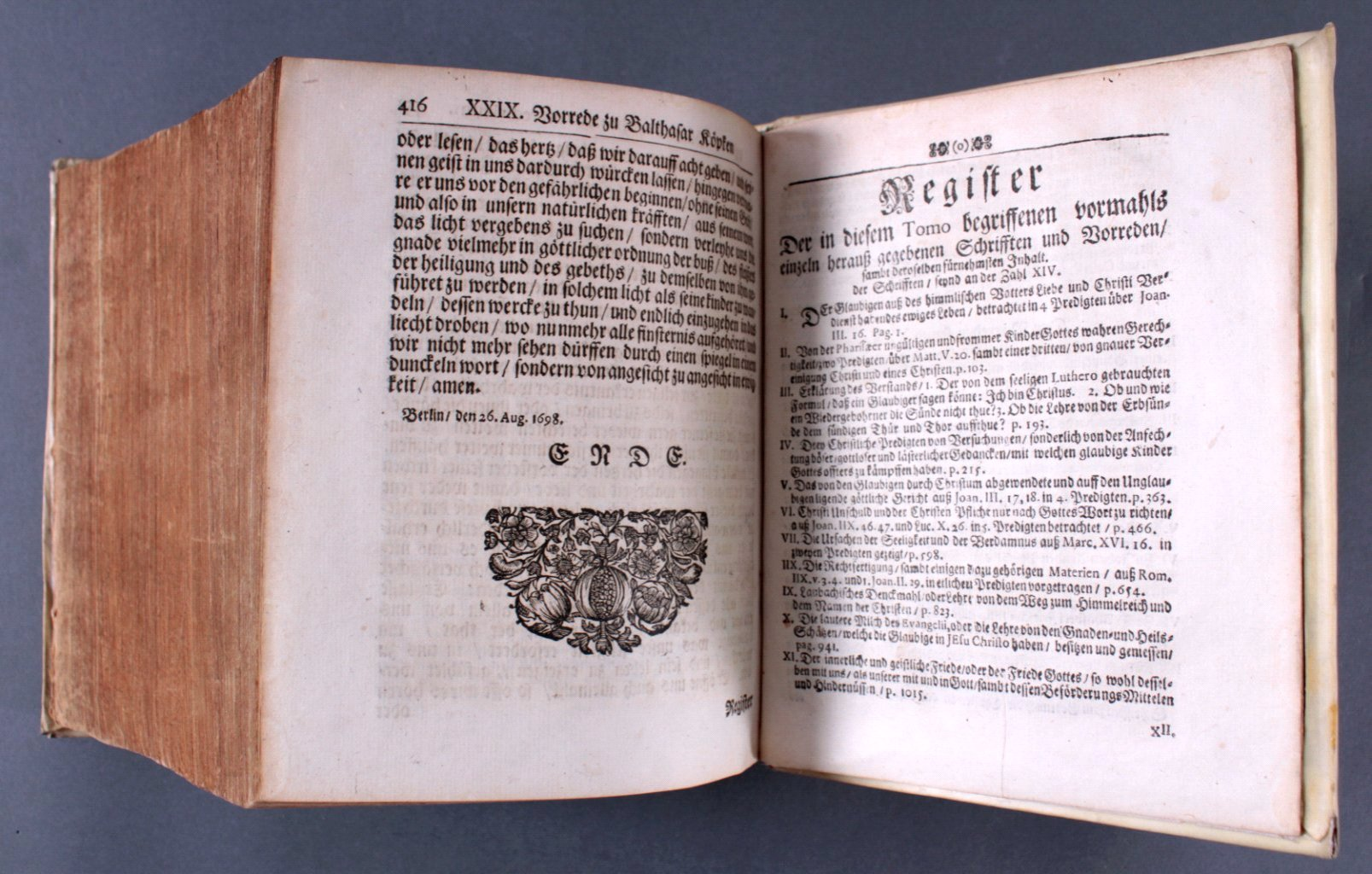 2 Ausgaben Joannis Lightfooti, 1618-9