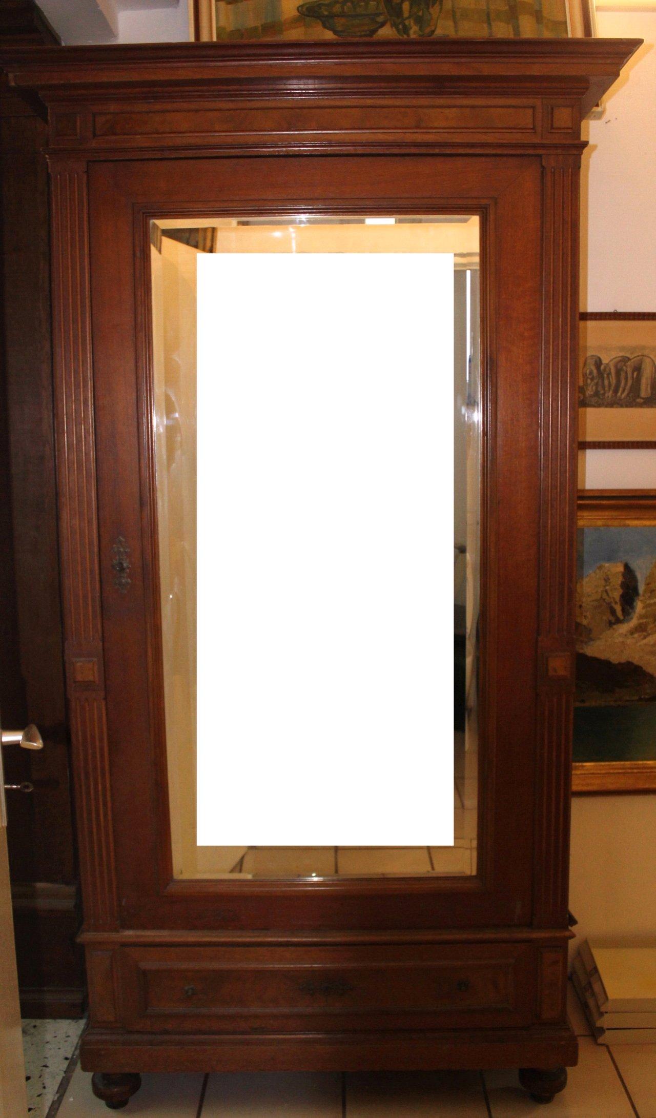 Gründerzeit Spiegelschrank um 1880