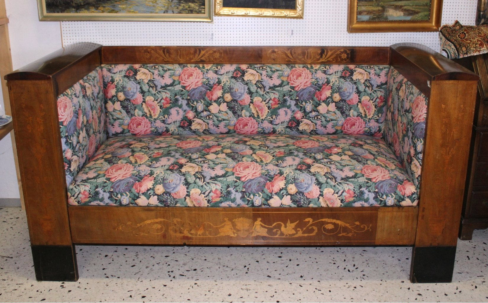 Biedermeier-Bank/Sofa