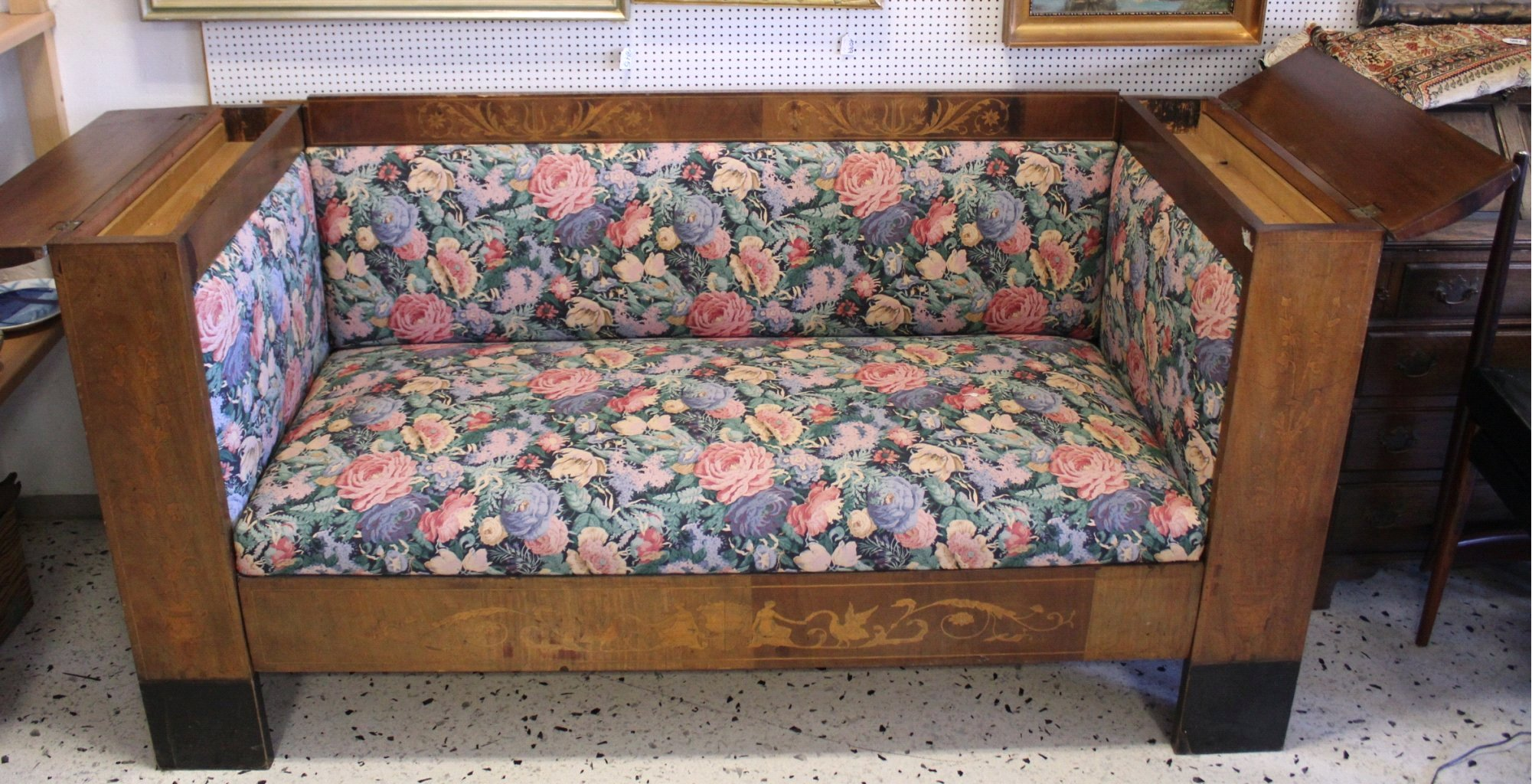 Biedermeier-Bank/Sofa-1