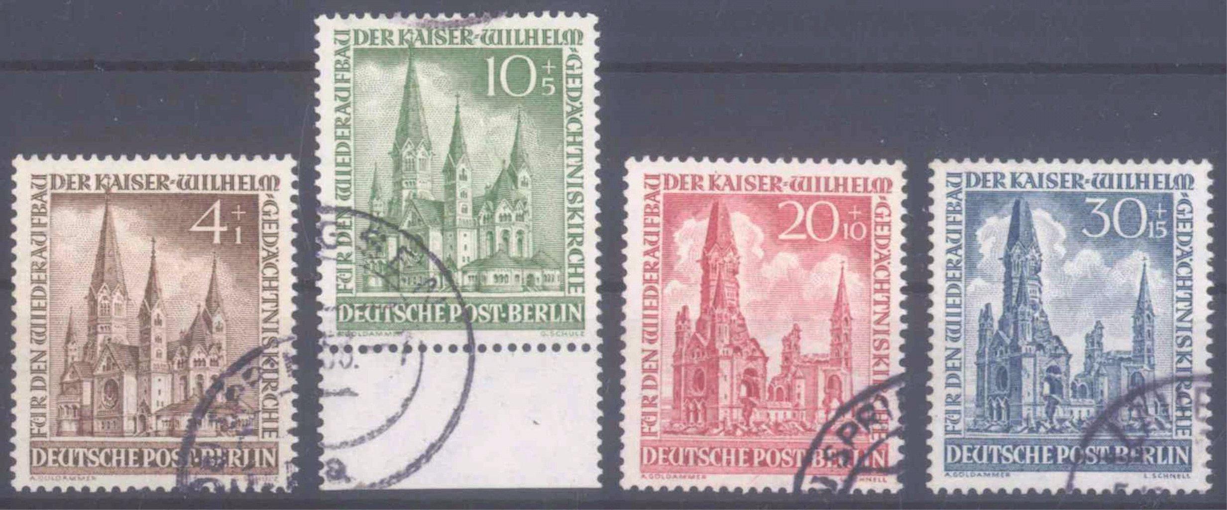 Berlin, Wiederaufbau der Gedächtniskirche, Mi 106-109
