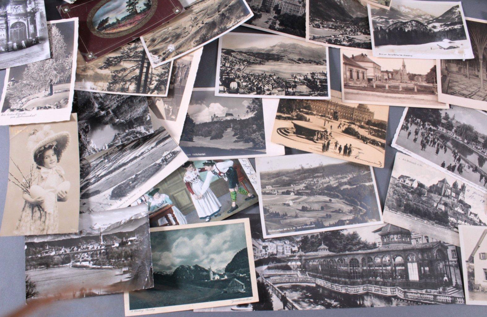 Über 150 Ansichtskarten-1