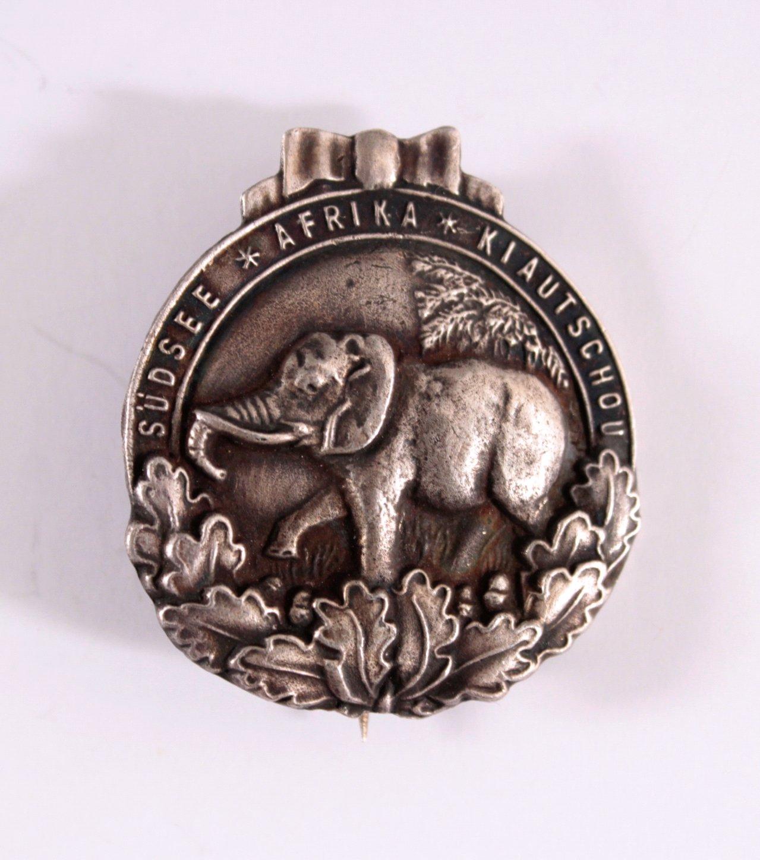Kolonial Abzeichen, Elefantenorden, Silber