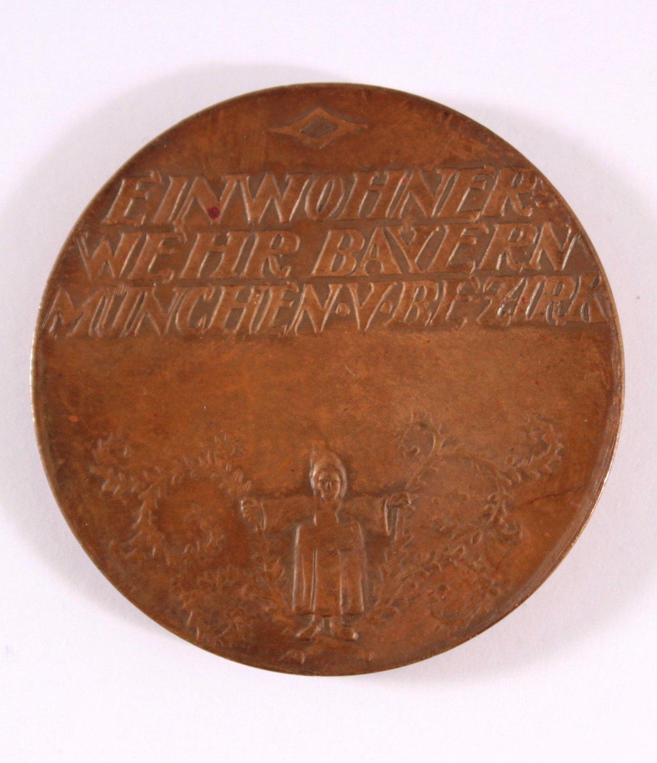Medaille der Einwohner Bayern-1