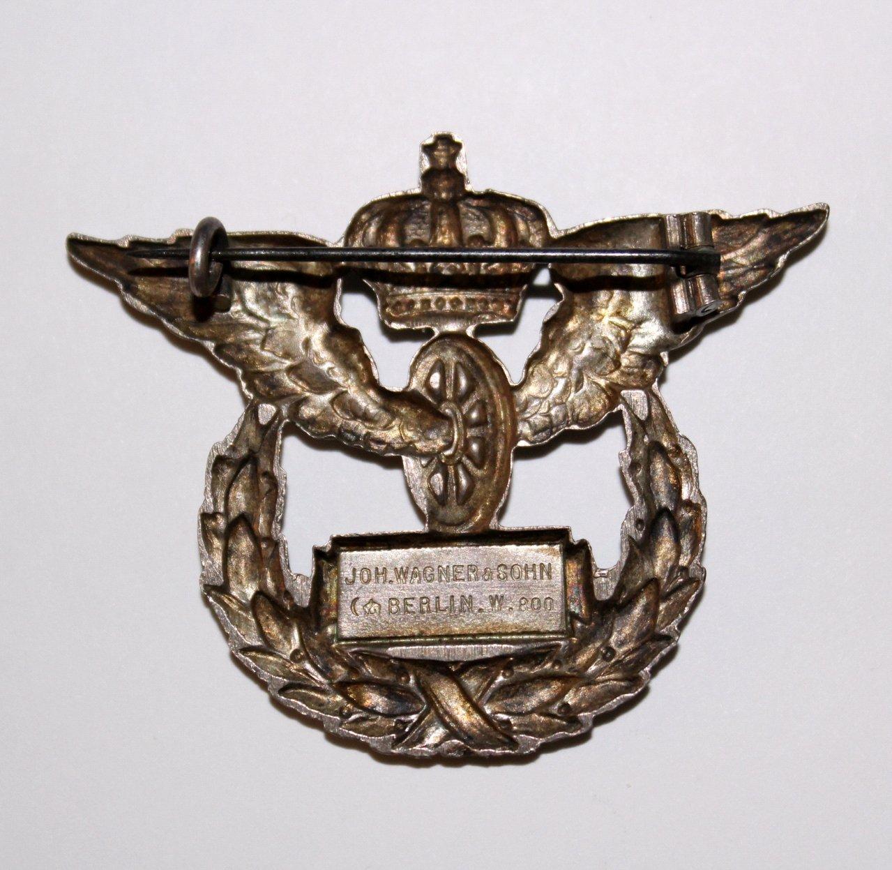 Erinnerungsabzeichen Preußische Staatsbahn-1