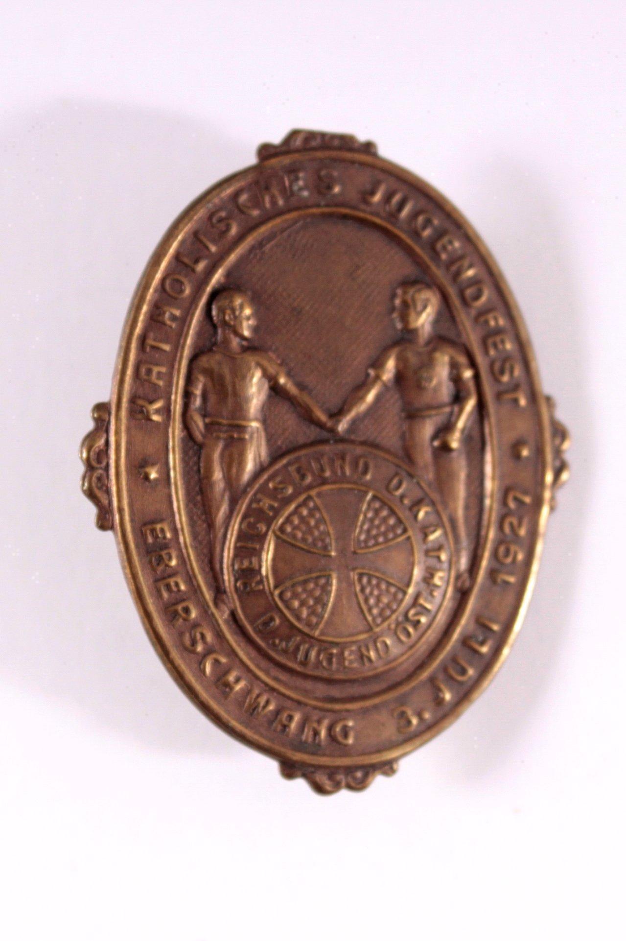 Abzeichen Katholisches Jugendfest Eberschwang 3.Juli 1927