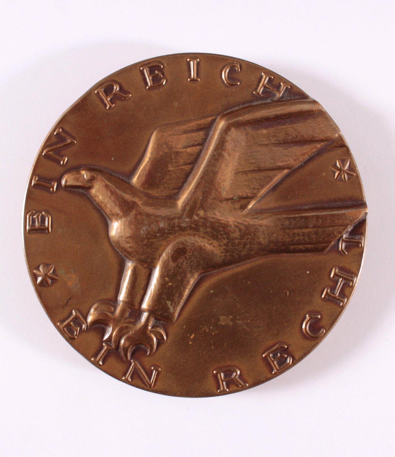 Bronzemedaille Ein Reich – Ein Recht, Focke Kassel-1
