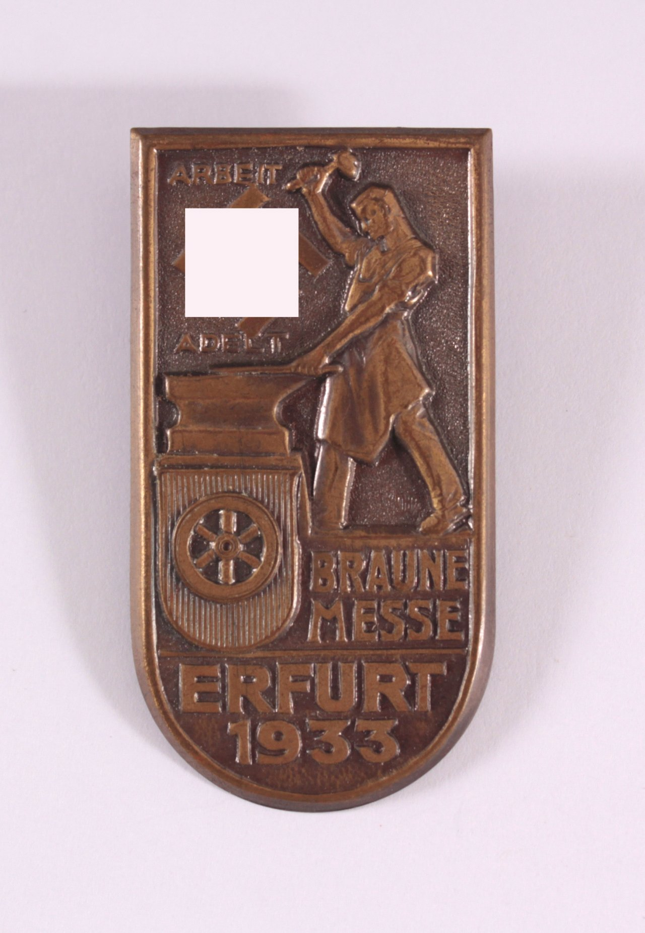 Abzeichen Braune Messe Erfurt 1933