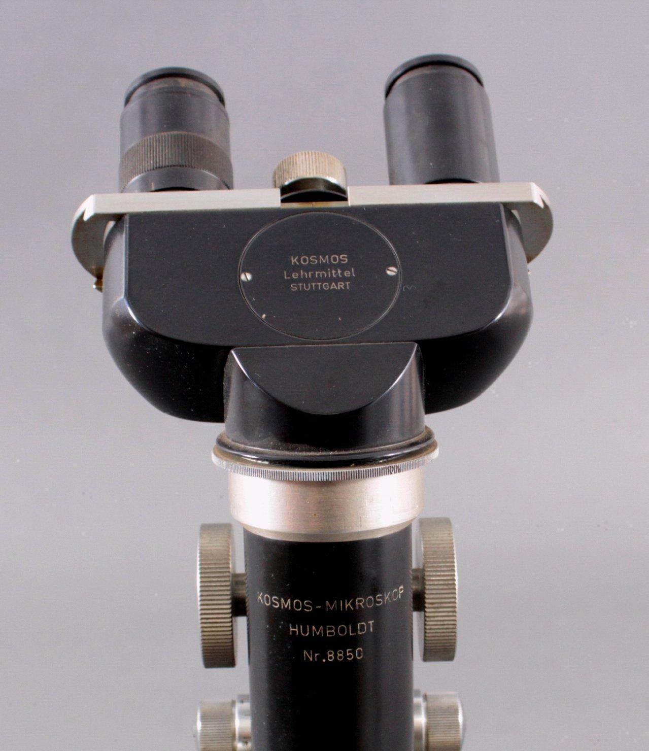 Mikroskop der Marke Kosmos, Lehrmittel Stuttgart-4