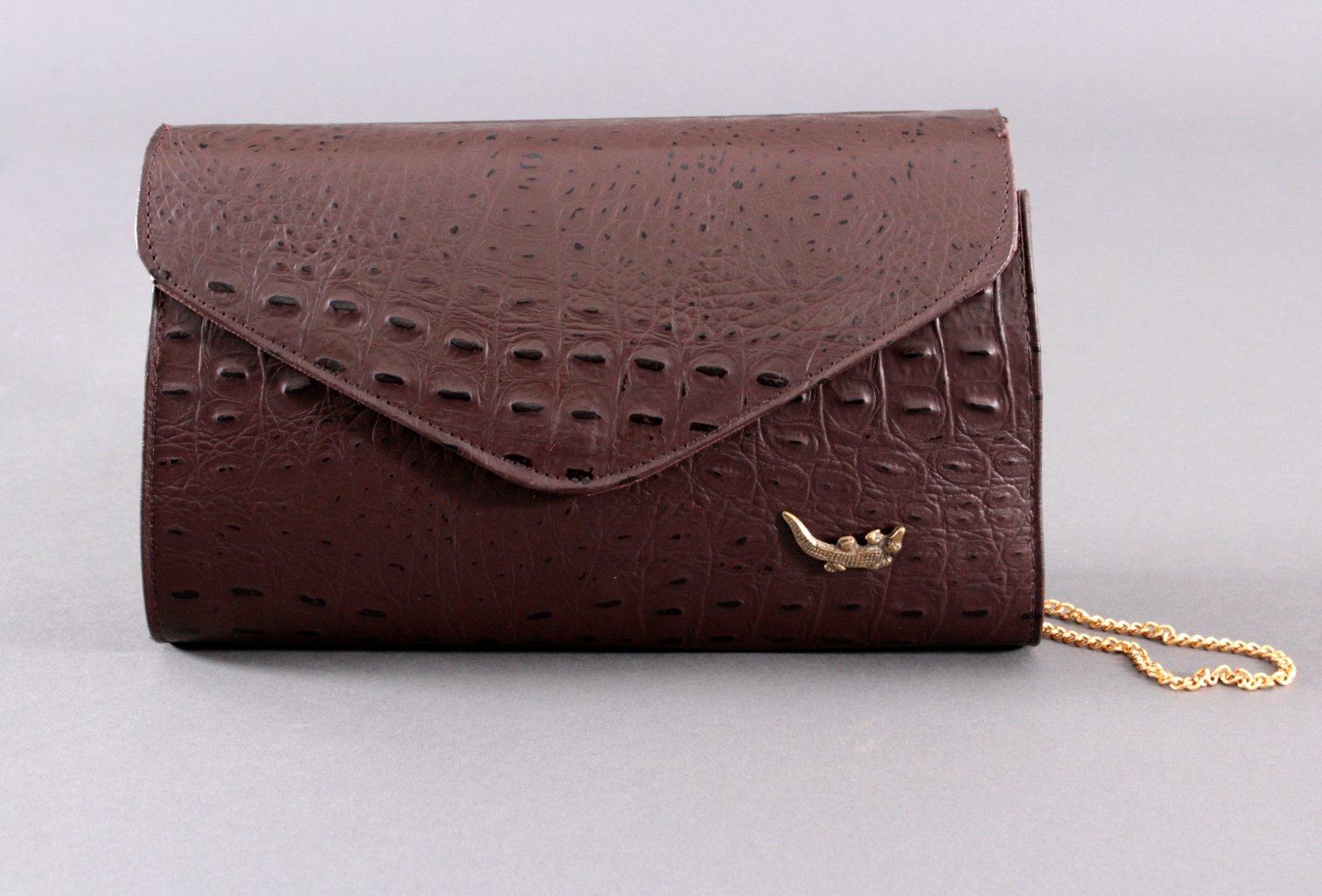Krokodilleder-Tasche