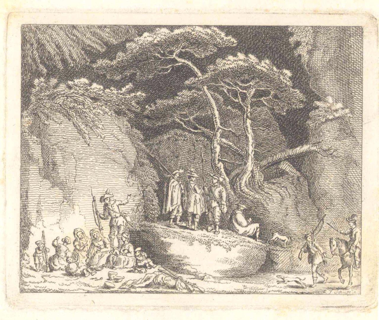 Georg Friedrich Schufft (1701 -1758) – Radierung 1750