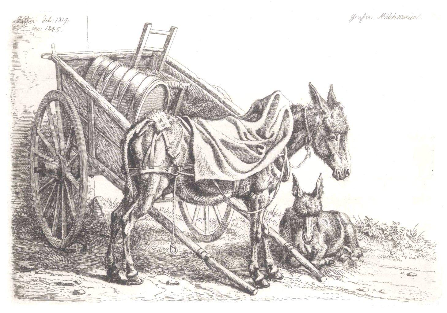 Johann Adam Klein ( Nürnberg 1792 – 1875 München)