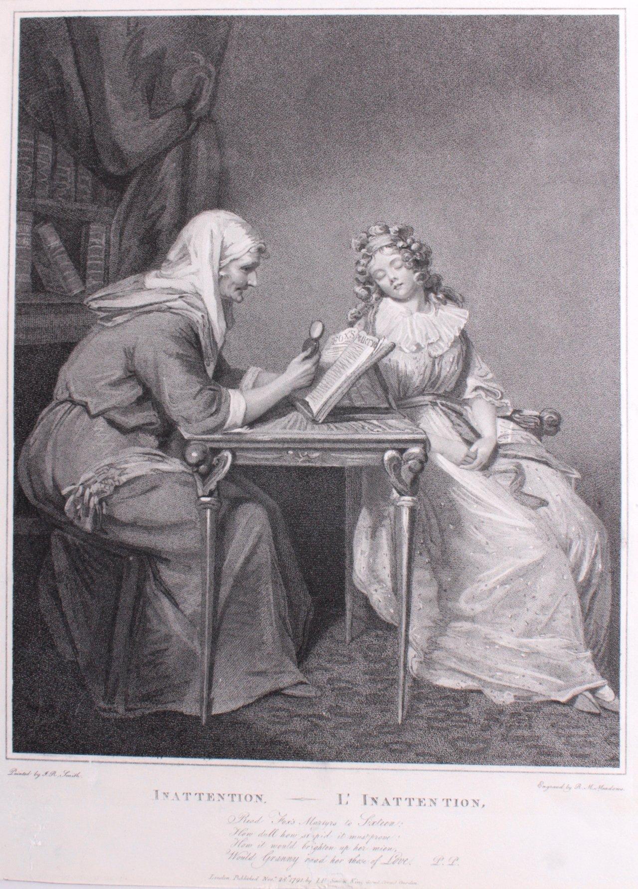 Robert Mitchell Meadows (Cardigan 1763 – 1812 London)
