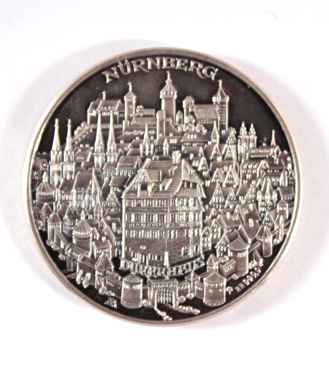 Silber Medaille 500 Jahre Albrecht Dürer 1471 1971 Badisches