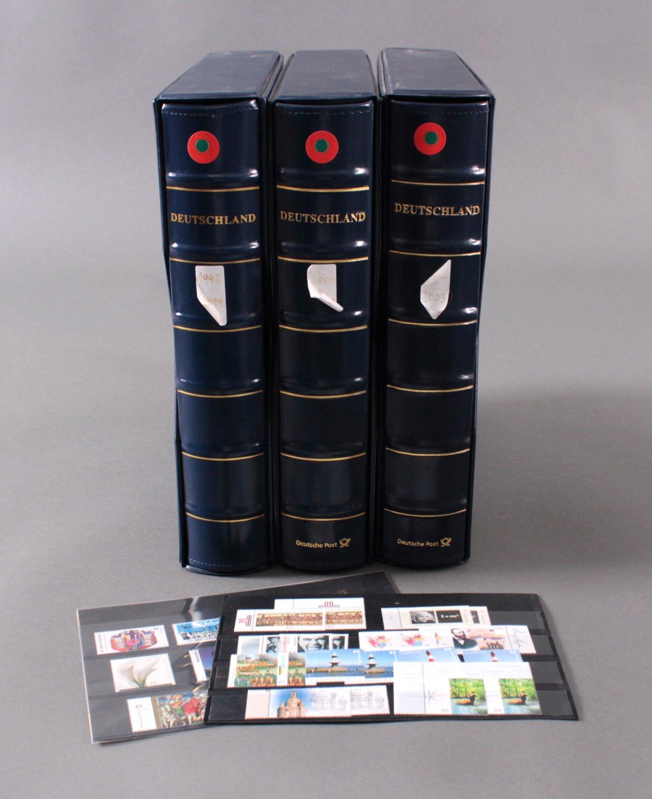 3 Alben BRD Atelier Edition 1998-2003,über 170 Euro Nominale