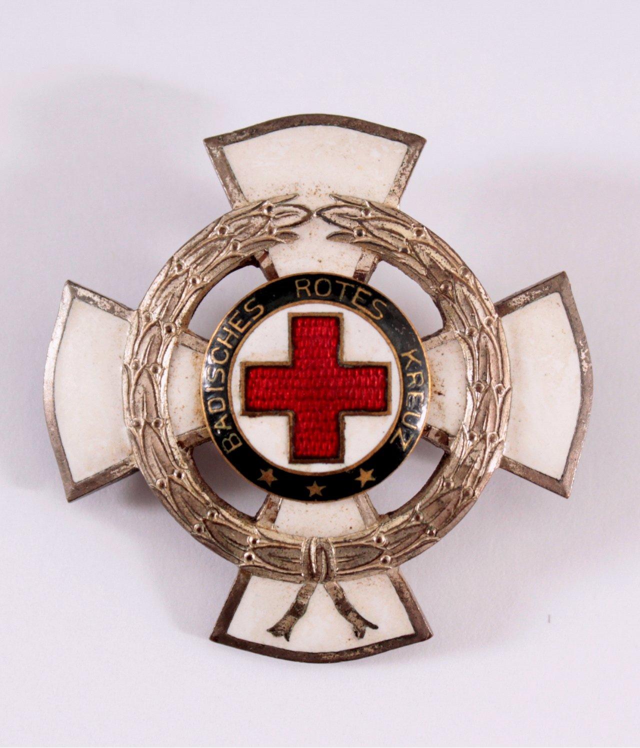 Abzeichen, Badischer Landesverein, Rotes Kreuz, 25 Jahre