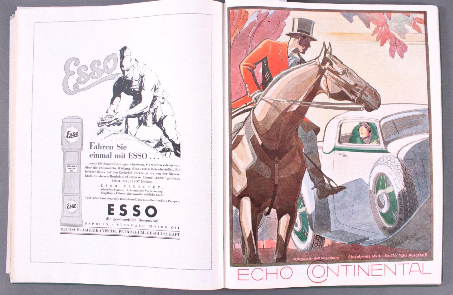 Echo Continental Jahrgang 1930-2