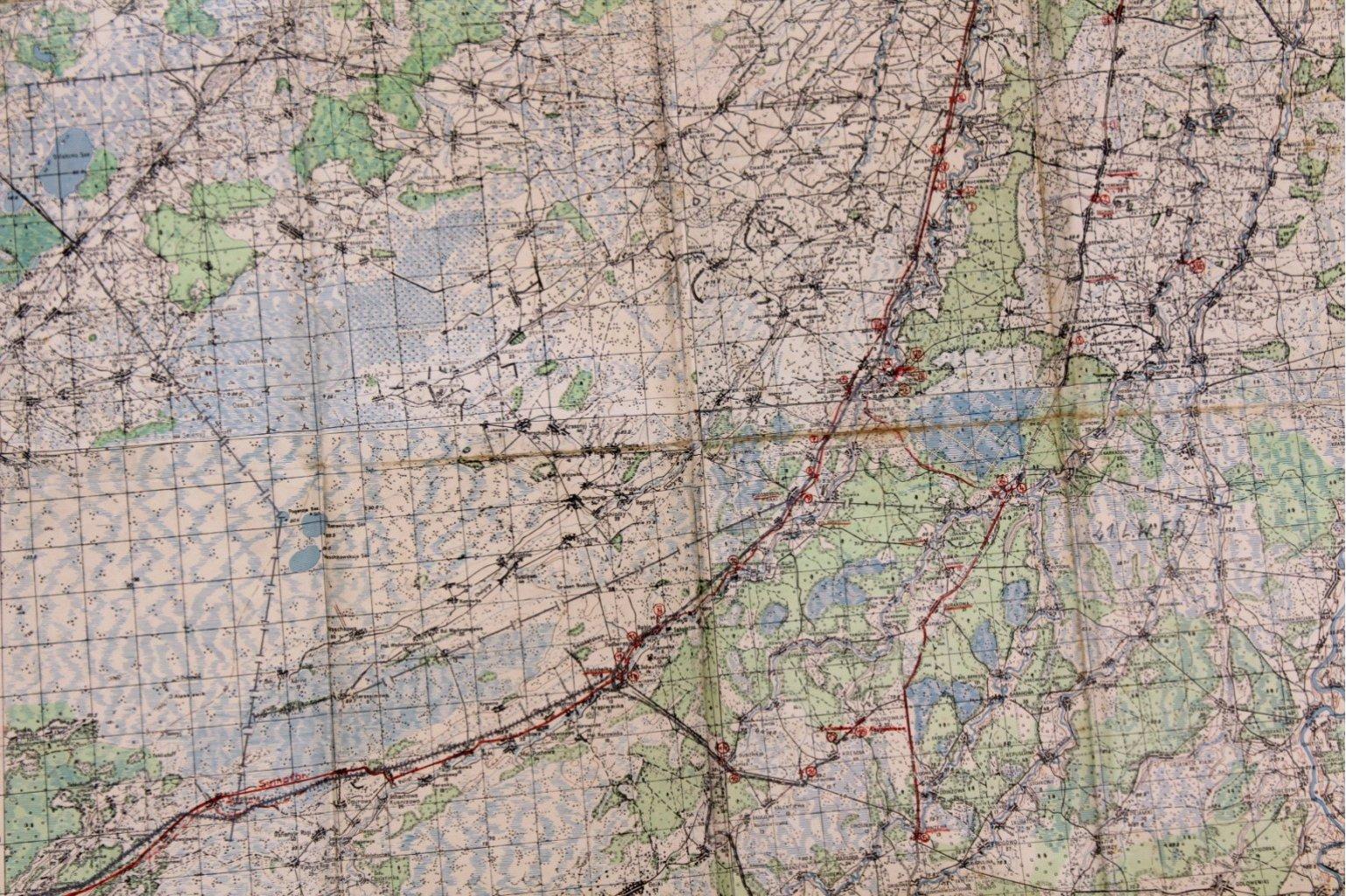 Kartennachlass Brückenbaustab 1, Brückenbau-Bataillon 683-6