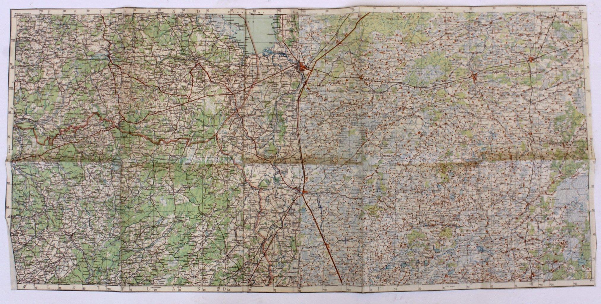 Kartennachlass Brückenbaustab 1, Brückenbau-Bataillon 683-7