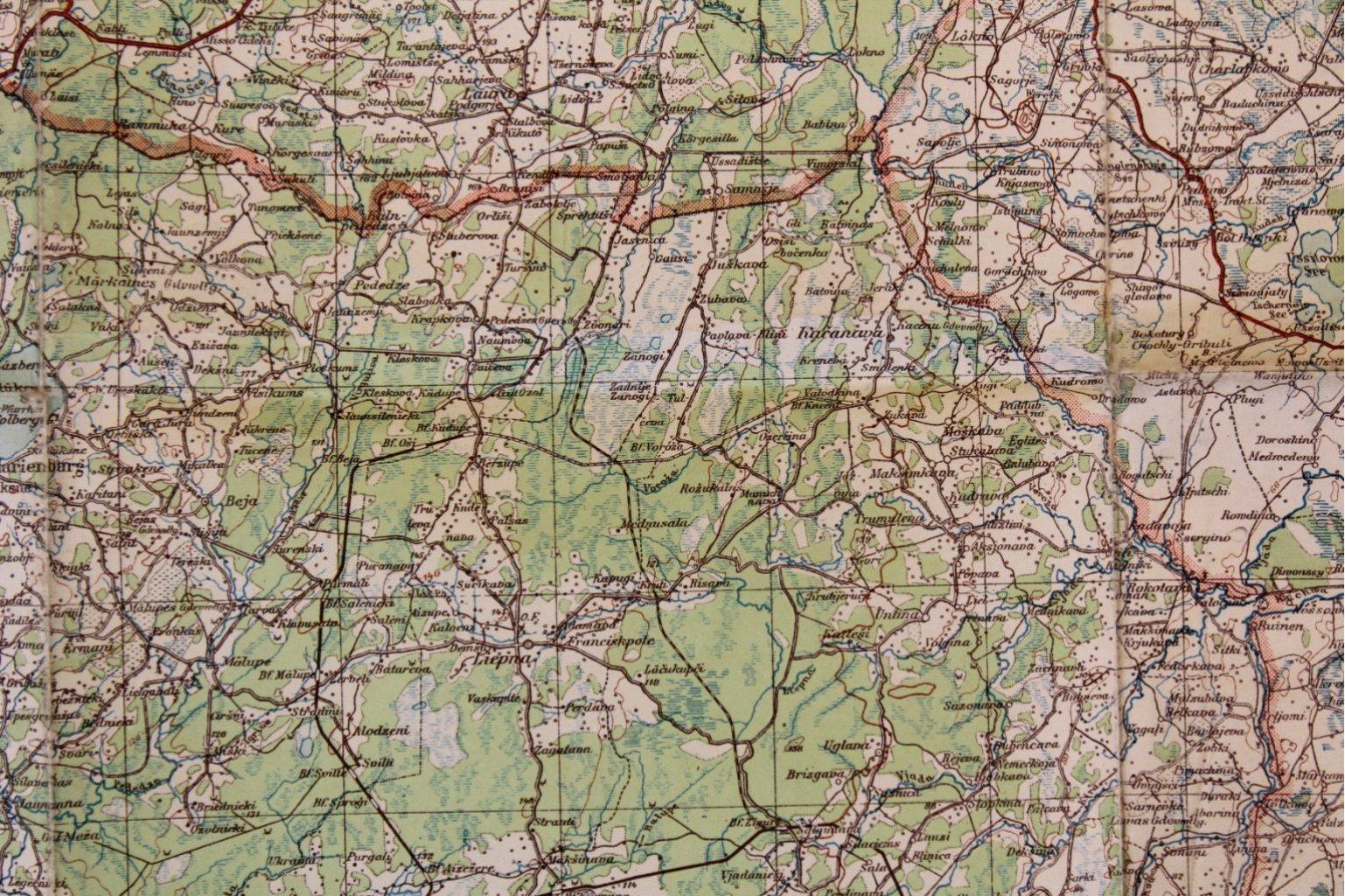 Kartennachlass Brückenbaustab 1, Brückenbau-Bataillon 683-8