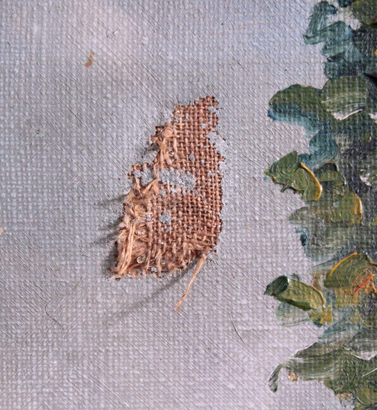 """Gemälde, """"Landschaft mit Ruinen""""-3"""