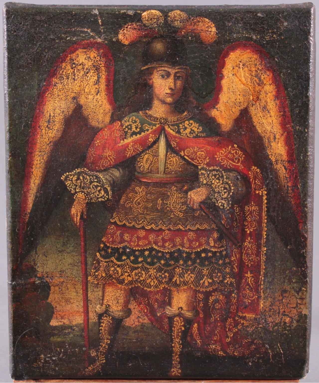Künstler des 16./17. Jahrhundert. Erzengel Michael