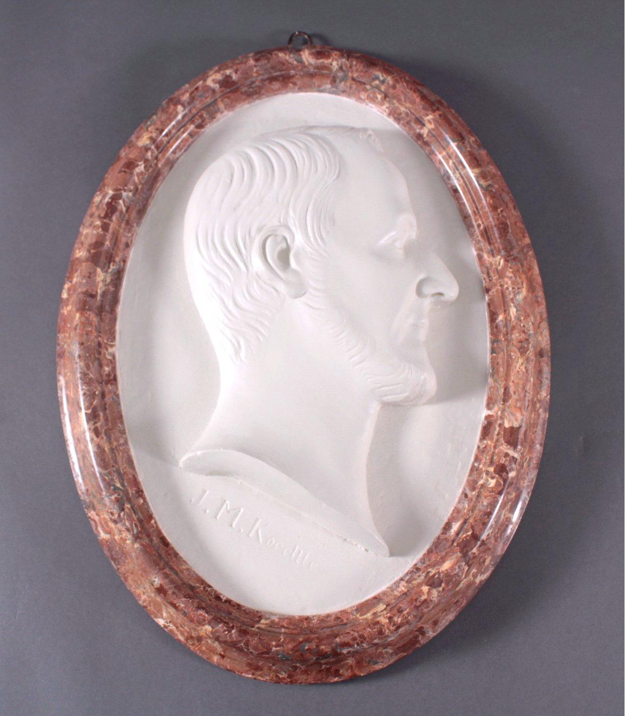 Relief Porträt um 1830