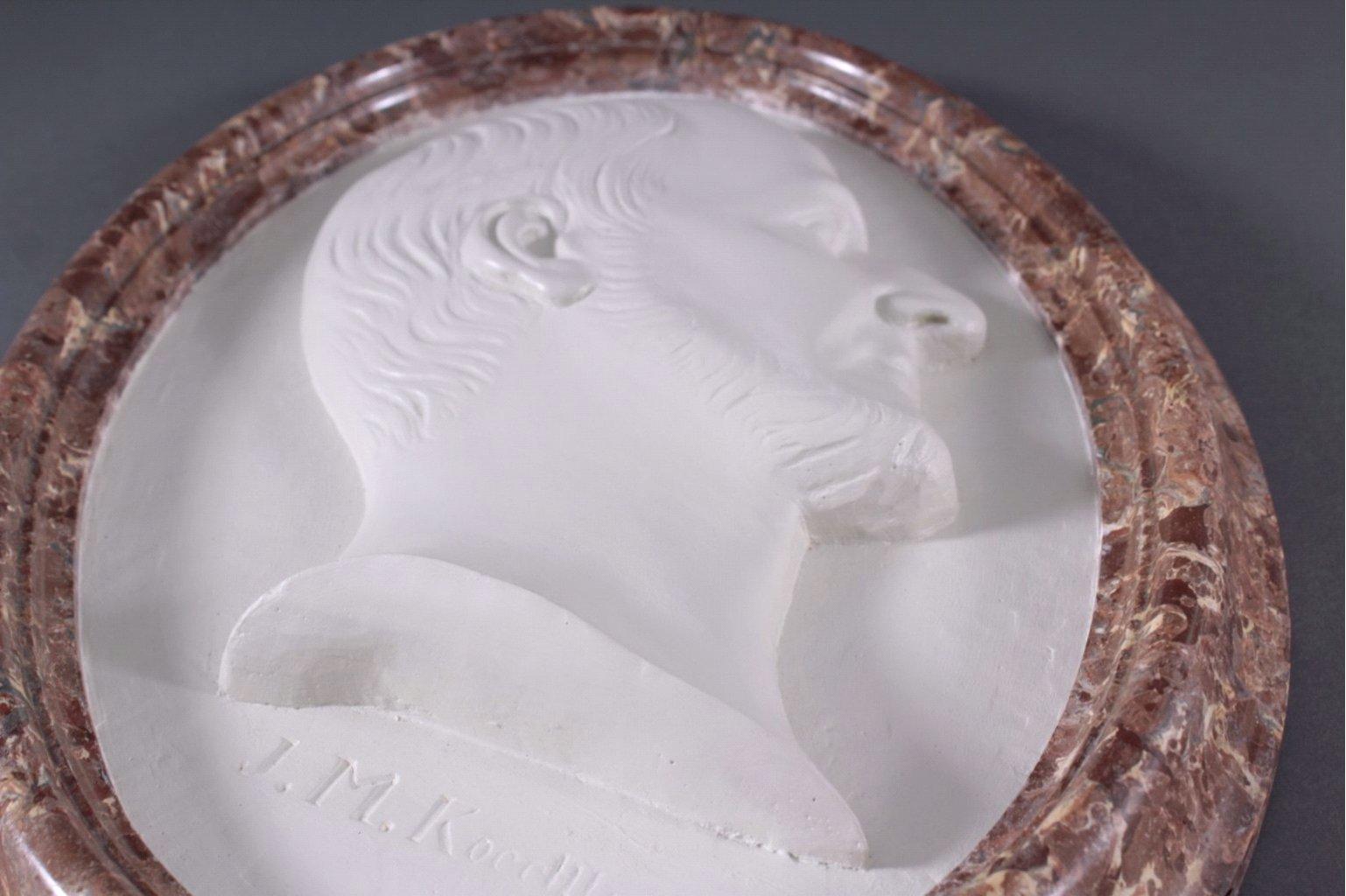 Relief Porträt um 1830-2