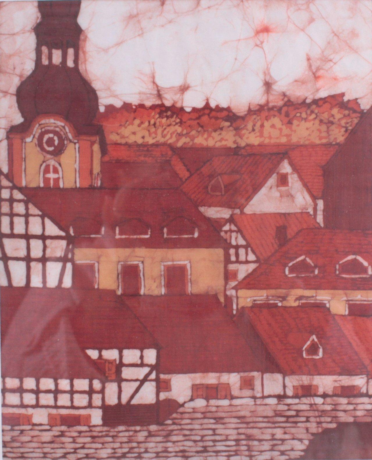 Original Batik – Seidenmalerei