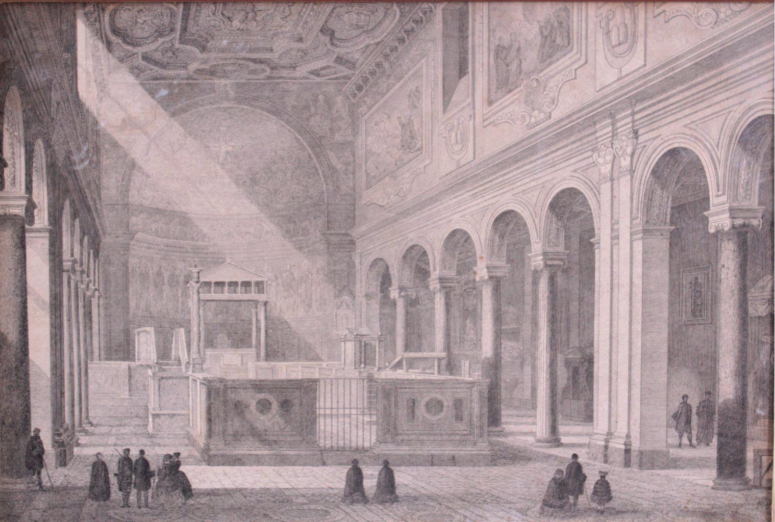 Federzeichnung des 19. Jahrhunderts