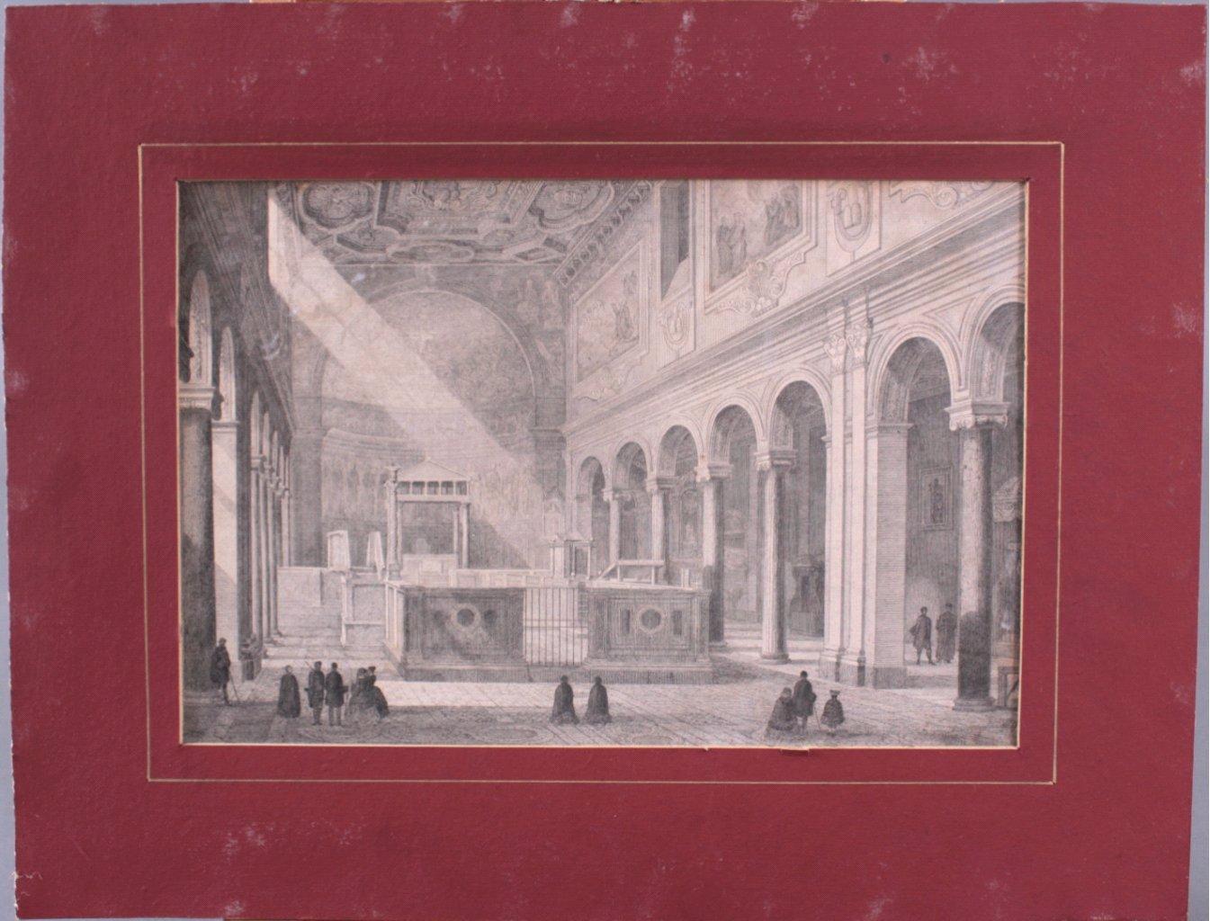 Federzeichnung des 19. Jahrhunderts-1