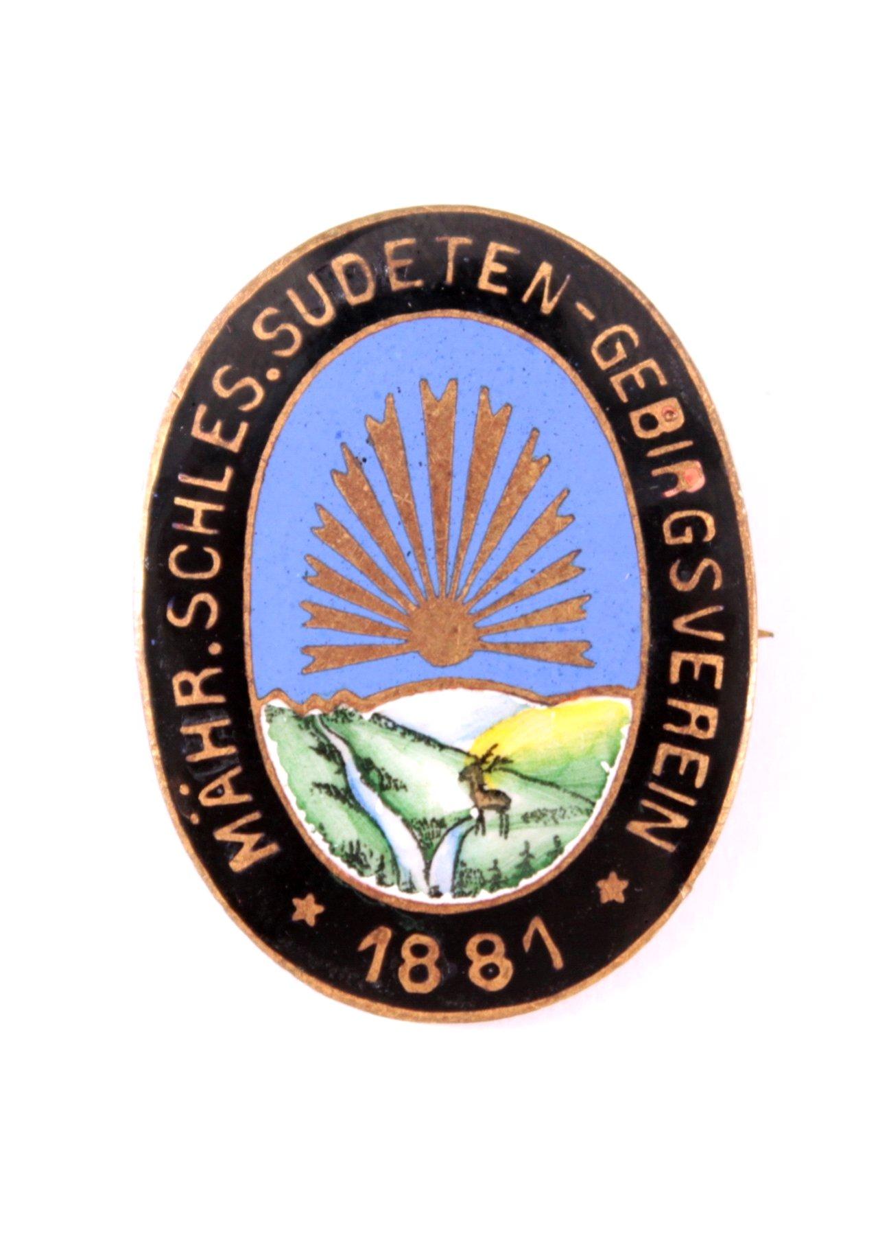 Abzeichen deutscher Organisationen 1871-1945 im Ausland