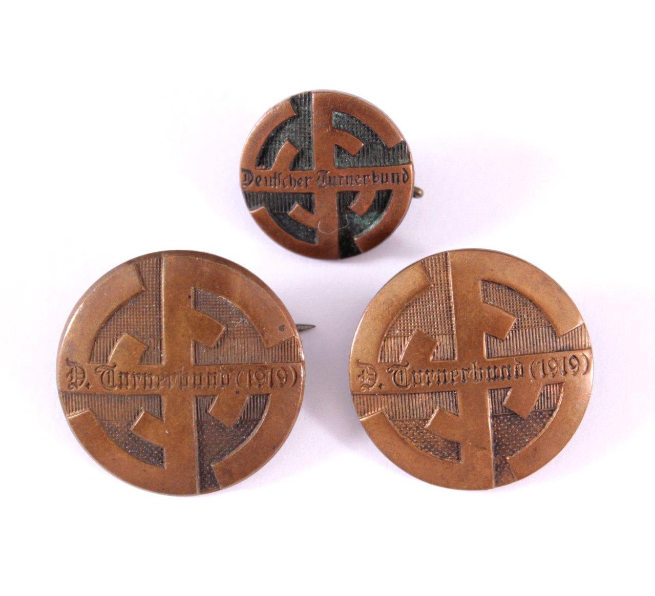 Abzeichen deutscher Organisationen 1871-1945