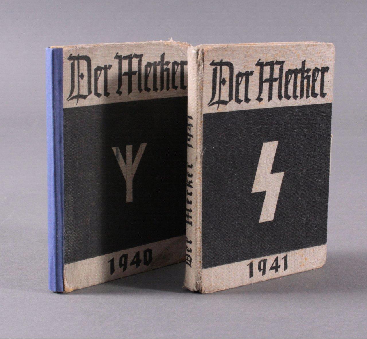 """2 VDA-Jahrbücher """"Der Merker"""""""