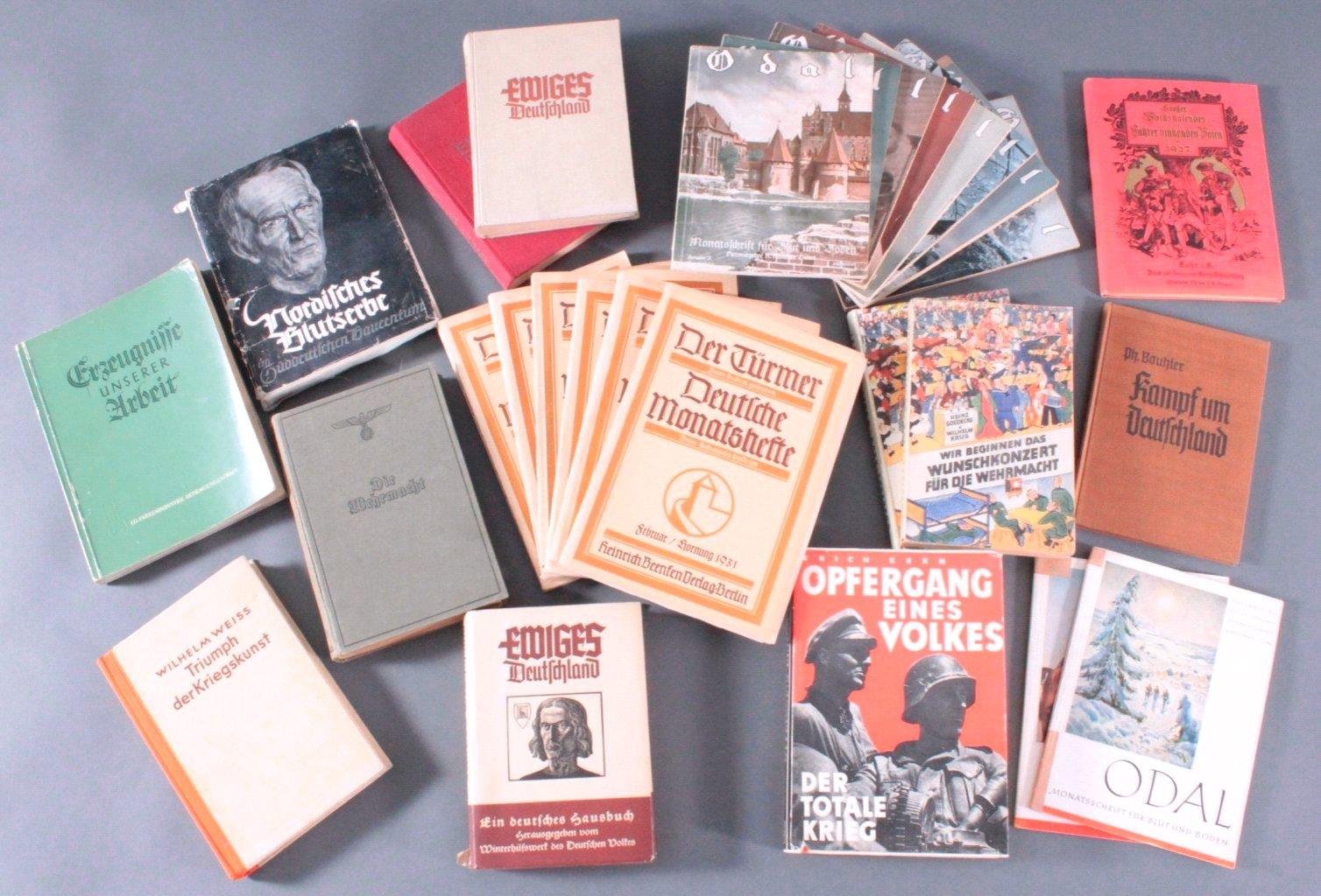 Drittes Reich, Konvolut Bücher