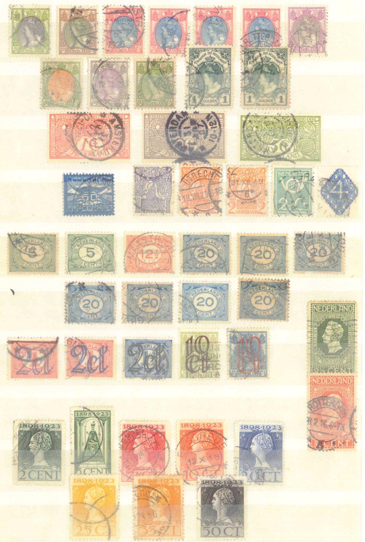 Briefmarken Nachlass Alle Welt-1