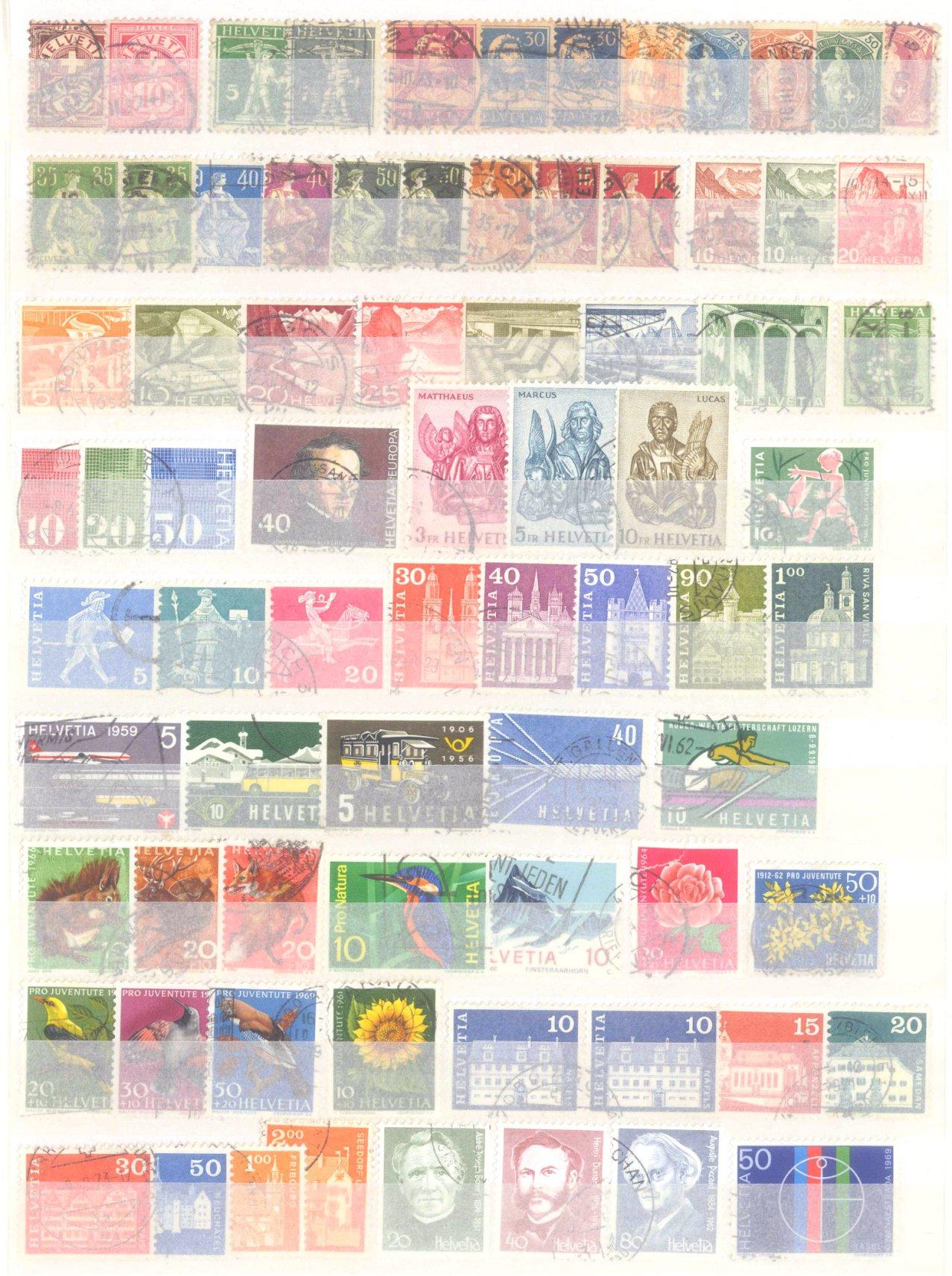 Briefmarken Nachlass Alle Welt-2