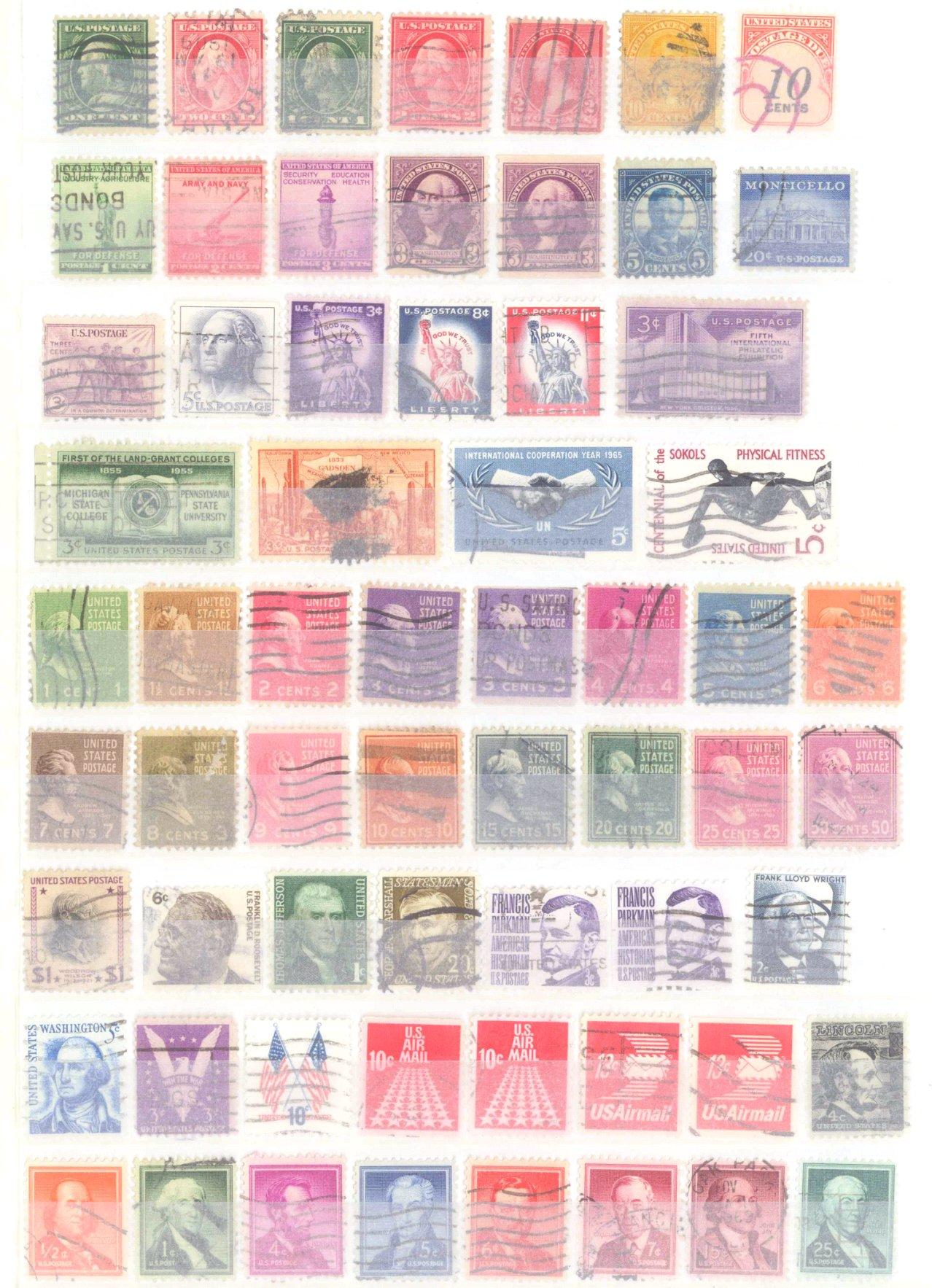 Briefmarken Nachlass Alle Welt-3