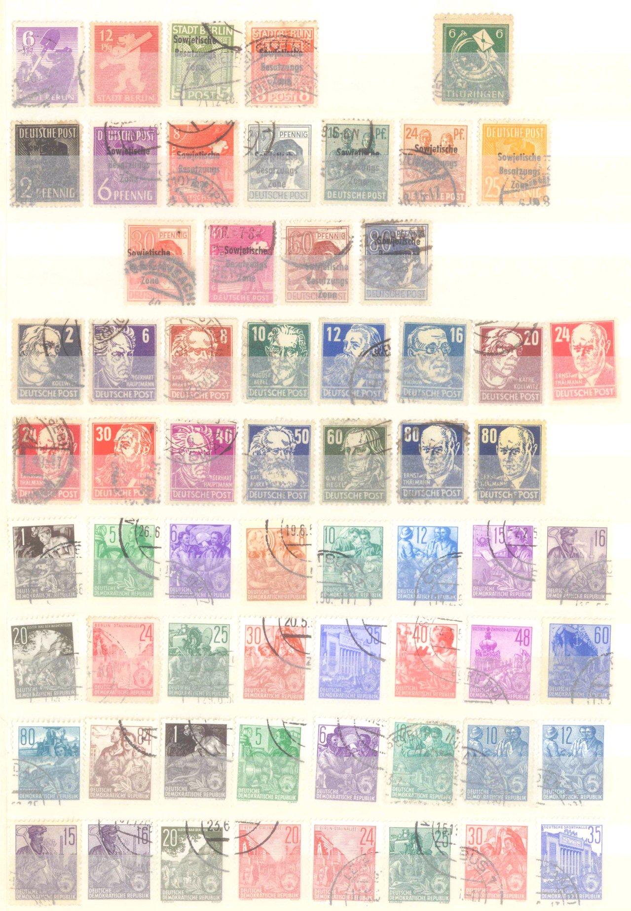 Briefmarken Nachlass Alle Welt-4